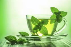 Чай с мятой как успокоительное средство перед сном