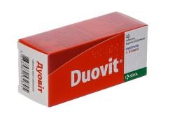 Витамины Дуовит для повышения иммунитета
