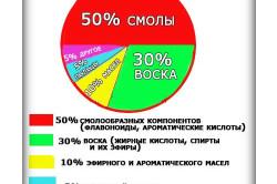 Химический состав прополиса