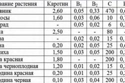 Химический состав шиповника и других ягод