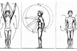 Круговые движения руками