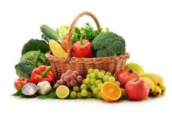 Овощи и фрукты для профилактики аллергии на солнце