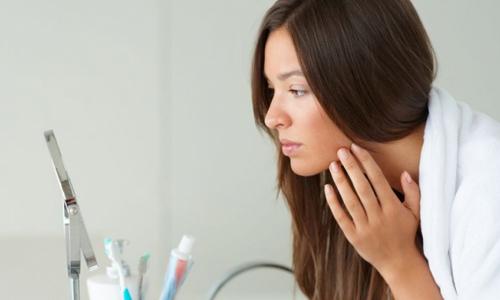 Проблема аллергии на лице