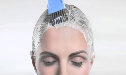 Проблема аллергии при окрашивании волос