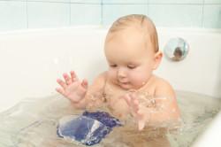 Теплые ванны для лечения диатеза