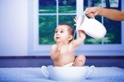 Водные процедуры-важный этап при закаливании детей