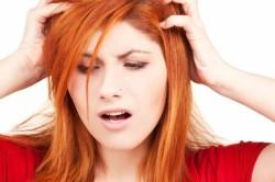 Зуд кожи головы при аллергии на краску для волос