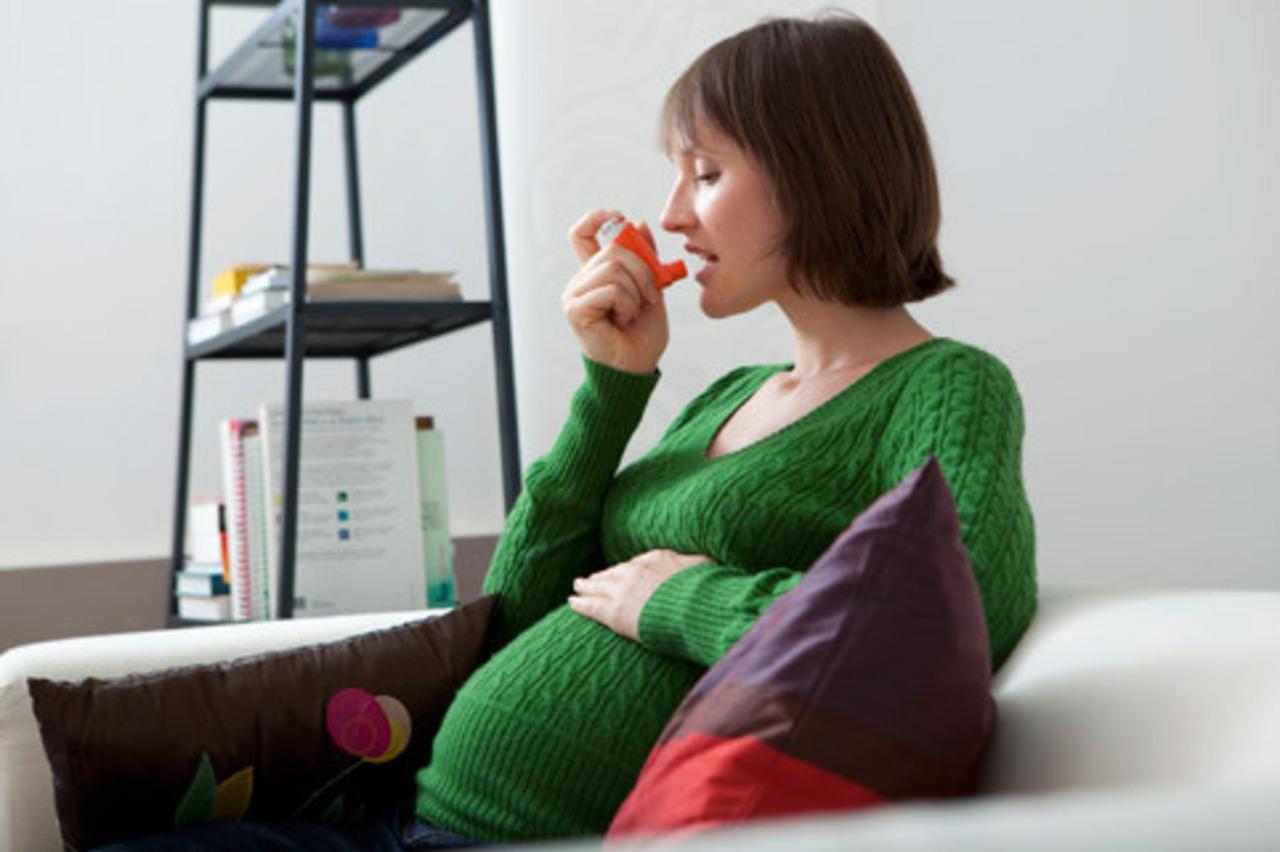 Приступы астмы при беременности