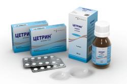 Цетрин — антигистаминное средство для борьбы с аллергией