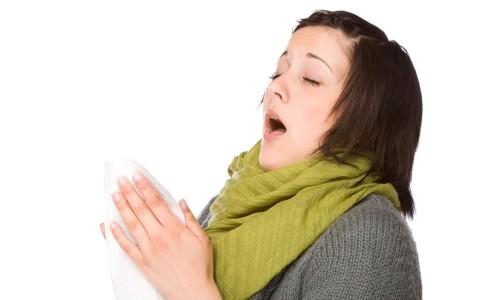 Кашель - общий симптом аллергии и простуды