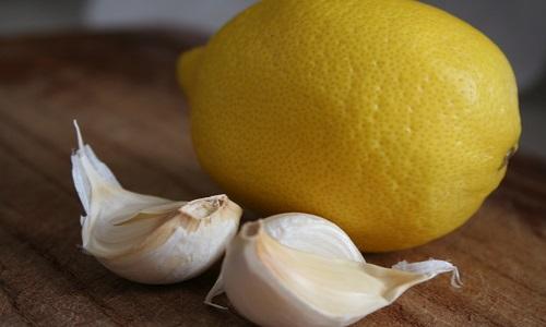 Целебные свойства лимона и чеснока