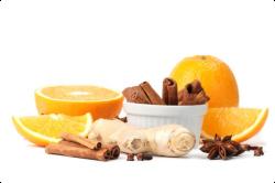 Имбирь с фруктами для повышения иммунитета