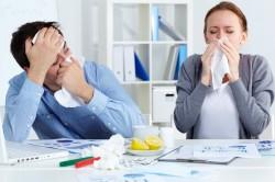 Насморк при аллергии на холод
