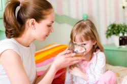 Обильное питье при лекарственной аллергии у детей
