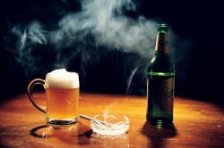 Вредные привычки - причина ослабленного иммунитета у мужчин