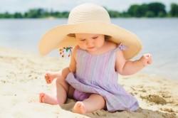 Солнечное закаливание детей