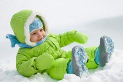 Зимние прогулки при закаливании