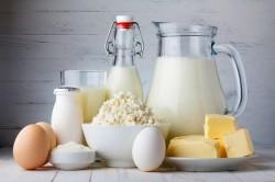 Молочные продукты для поддержки иммунитета кожи